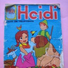 Coleccionismo Álbumes: ALBUM - HEIDI - EDITORIAL FHER 1975 - CON 123 CROMOS - FOTOGRAFIADO COMPLETO. Lote 75247711