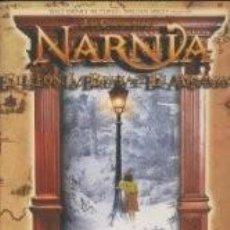 Coleccionismo Álbumes: ALBUM PLANCHA VACÍO Y NUEVO LAS CRONICAS DE NARNIA + MAS 50 SOBRES SIN ABRIR. Lote 107450234