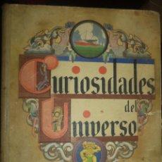 Coleccionismo Álbumes: ALBUM CURIOSIDADES DEL UNIVERSO.SOCIEDAD NESTLÉ,A.E.P.A.1933 CON 366 CROMOS.. Lote 77284757