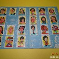 Coleccionismo Álbumes: ANTIGUO ALBUM * CARICATURAS 22 * DE CROMOS ROS DEL AÑO 1987. Lote 77421013