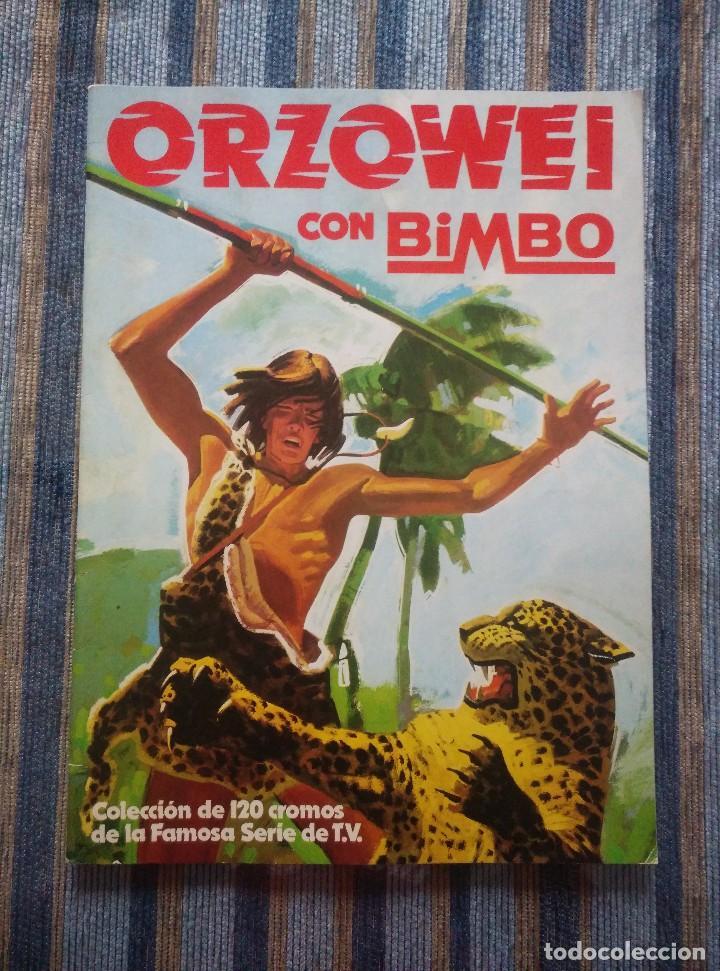 ALBUM DE CROMOS ORZOWEI (VACIO) - (BIMBO 1978) (Coleccionismo - Cromos y Álbumes - Álbumes Incompletos)