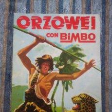 Coleccionismo Álbumes: ALBUM DE CROMOS ORZOWEI (VACIO) - (BIMBO 1978) . Lote 77510117