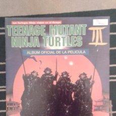 Coleccionismo Álbumes: ALBUM DE CROMOS TEENAGE MUTAN NINJA TURTLES III // EN EXCELENTE ESTADO //. Lote 77910761