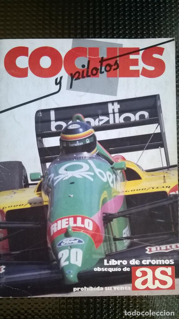 ALBUM COCHES Y PILOTOS - MOTOS Y PILOTOS DE AS 1987 ( A-02) (Coleccionismo - Cromos y Álbumes - Álbumes Incompletos)