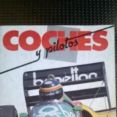 Coleccionismo Álbumes: ALBUM COCHES Y PILOTOS - MOTOS Y PILOTOS DE AS 1987 ( A-02). Lote 79138509