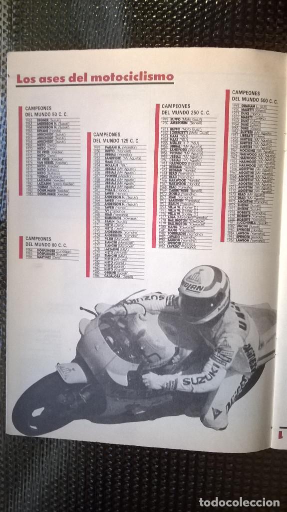 Coleccionismo Álbumes: ALBUM COCHES Y PILOTOS - MOTOS Y PILOTOS DE AS 1987 ( A-02) - Foto 10 - 79138509