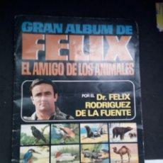 Coleccionismo Álbumes: GRAN ALBUM DE FELIX EL AMIGO DE LOS ANIMALES. AÑOS 70. BRUGUERA. Lote 79613078