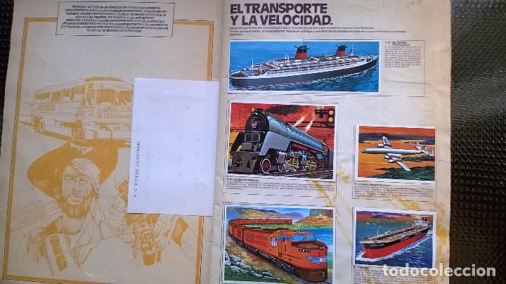 Coleccionismo Álbumes: ALBUM TECNICA Y ACCION - EDC. ESTE 1980 - SOLO FALTAN LOS Nº 104 Y 188 ( A-02) - Foto 2 - 79888393