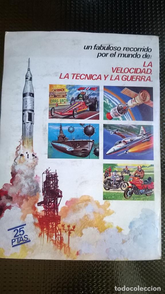 Coleccionismo Álbumes: ALBUM TECNICA Y ACCION - EDC. ESTE 1980 - SOLO FALTAN LOS Nº 104 Y 188 ( A-02) - Foto 6 - 79888393