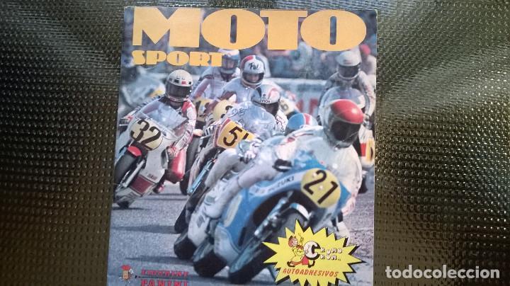 ALBUM MOTO SPORT - CROMO ROM 1980 (A-02) (Coleccionismo - Cromos y Álbumes - Álbumes Incompletos)