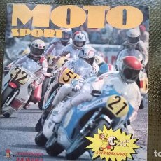 Coleccionismo Álbumes: ALBUM MOTO SPORT - CROMO ROM 1980 (A-02). Lote 79895689