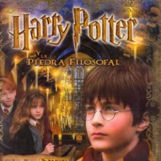 Coleccionismo Álbumes: HARRY POTTER Y LA PIEDRA FILOSOFAL **** PANINI 2002. Lote 79938345