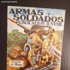 Coleccionismo Álbumes: ÁLBUM ARMAS Y SOLDADOS. COSTA. Lote 79983557