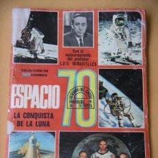 Coleccionismo Álbumes: ÁLBUM DE CROMOS ESPACIO 70, ED. ESTE, INCOMPLETO, AÑO 1969 ERCOM. Lote 80201617