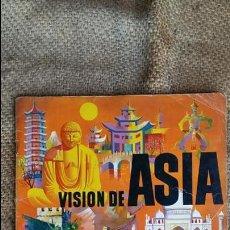 Coleccionismo Álbumes: ALBUM CROMOS VISION DE ASIA. CHOCOLATES TORRAS. AÑO 1961. . Lote 80698774
