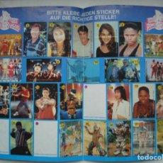Coleccionismo Álbumes: CROMOS PEGATINAS CHICLES ALBUM POWER RANGERS VIDAL! CROMO PEGATINA CHICLE. Lote 81135948