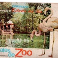 Coleccionismo Álbumes: ALBUM ANIMALES DE ZOO DE CERVEZAS ESTRELLA DEL SUR AÑO 1971. Lote 81609900