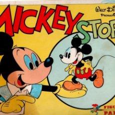 Coleccionismo Álbumes: ALBUM CROMOS MICKEY STORY. Lote 81611640