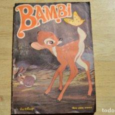 Coleccionismo Álbumes: BAMBI INCOMPLETO. Lote 81894112