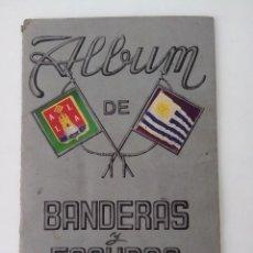Coleccionismo Álbumes: ALBUM BANDERAS Y ESCUDOS DE TODO EL MUNDO FHER 1949. Lote 82205056