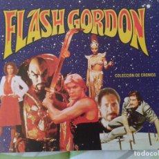 Coleccionismo Álbumes: ALBUM DE CROMOS FLASH GORDON // COMPLETO // TOTALMENTE NUEVO E IMPECABLE. Lote 82491256