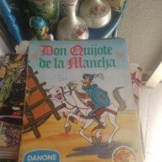 Coleccionismo Álbumes: ALBUN DON QUIJOTE DE DANONE. Lote 82939564