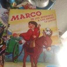 Coleccionismo Álbumes: MARCO DE LOS APENINOS DANONE. Lote 82940772