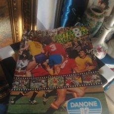 Coleccionismo Álbumes: FUTBOL EN ACCION DANONE. Lote 82941424