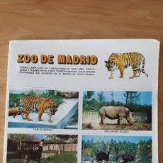 Coleccionismo Álbumes: ALBUM CROMOS ZOO DE MADRID - VER FOTOS ADICIONALES. Lote 83466748