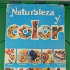 Coleccionismo Álbumes: ALBUM NATURALEZA Y COLOR. Lote 83569560