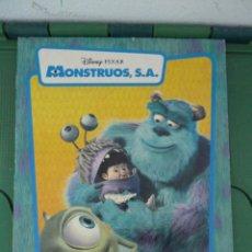 Coleccionismo Álbumes: ALBUM MONSTRUOS S.A. - PANINI. Lote 83683436