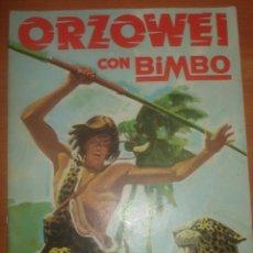Coleccionismo Álbumes: ALBUM ORZOWEI. CON BIMBO. COLECCIÓN DE 120 CROMOS DE LA SERIE DE TV. ALBUM VACIO.. Lote 83744064