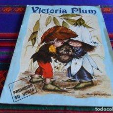 Coleccionismo Álbumes: VICTORIA PLUM INCOMPLETO FALTAN 37 DE 120 CROMOS. FHER 1982. RARO.. Lote 83808292