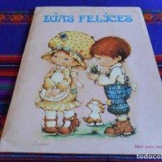 Coleccionismo Álbumes: DÍAS FELICES INCOMPLETO FALTAN 15 DE 120 CROMOS. FHER 1981. . Lote 83809488