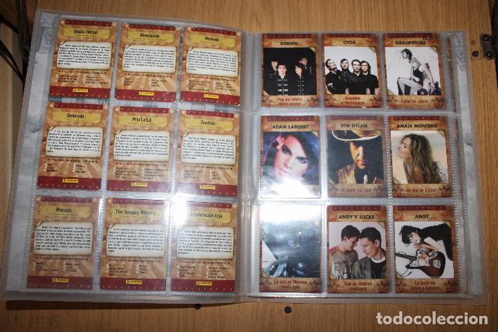 Coleccionismo Álbumes: MUSICARDS - ÁLBUM INCOMPLETO - PANINI - Foto 4 - 47100465