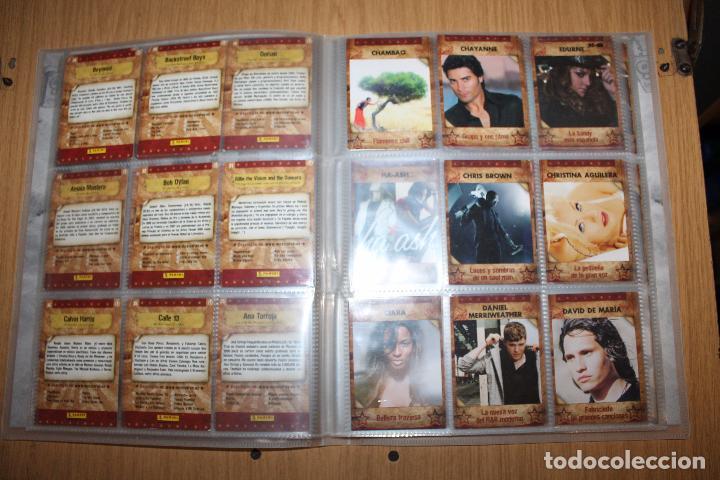 Coleccionismo Álbumes: MUSICARDS - ÁLBUM INCOMPLETO - PANINI - Foto 6 - 47100465