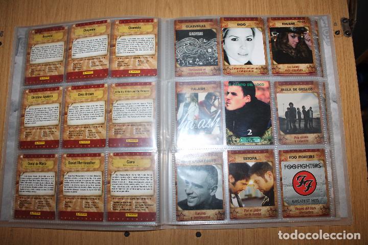 Coleccionismo Álbumes: MUSICARDS - ÁLBUM INCOMPLETO - PANINI - Foto 7 - 47100465