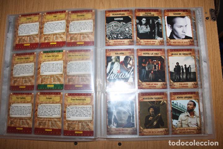 Coleccionismo Álbumes: MUSICARDS - ÁLBUM INCOMPLETO - PANINI - Foto 8 - 47100465