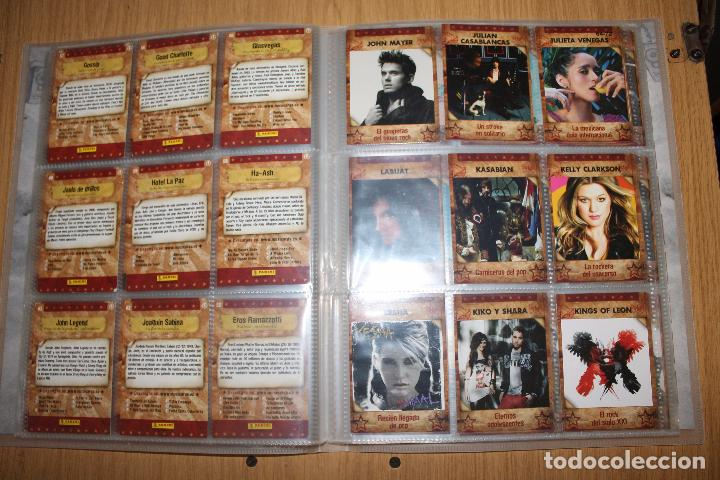 Coleccionismo Álbumes: MUSICARDS - ÁLBUM INCOMPLETO - PANINI - Foto 9 - 47100465