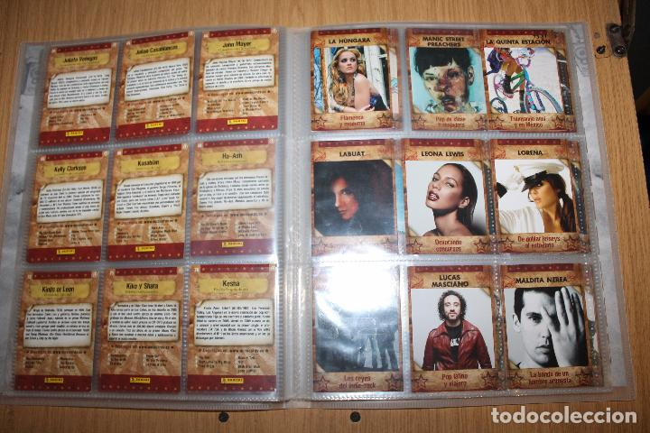 Coleccionismo Álbumes: MUSICARDS - ÁLBUM INCOMPLETO - PANINI - Foto 10 - 47100465