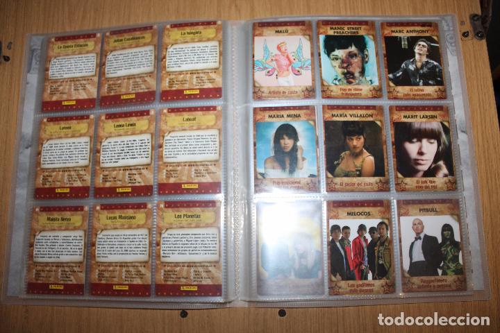 Coleccionismo Álbumes: MUSICARDS - ÁLBUM INCOMPLETO - PANINI - Foto 11 - 47100465