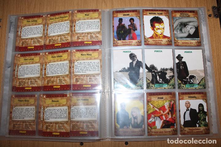 Coleccionismo Álbumes: MUSICARDS - ÁLBUM INCOMPLETO - PANINI - Foto 12 - 47100465