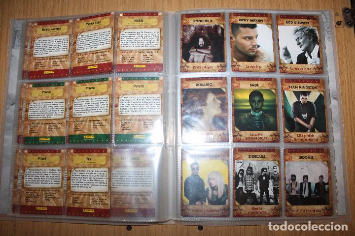 Coleccionismo Álbumes: MUSICARDS - ÁLBUM INCOMPLETO - PANINI - Foto 13 - 47100465