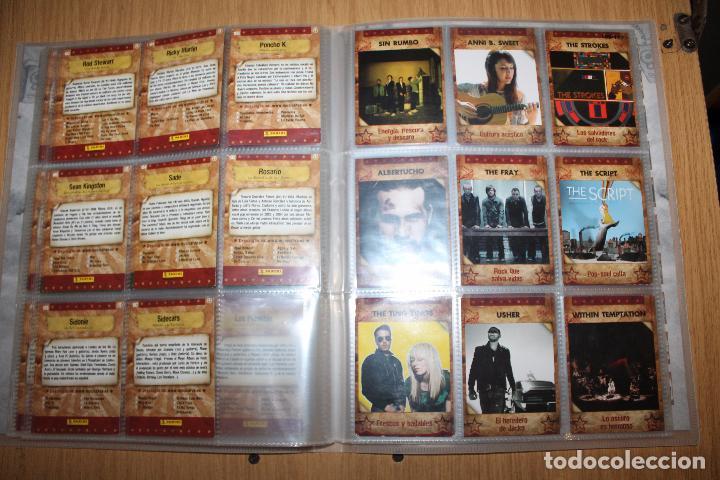 Coleccionismo Álbumes: MUSICARDS - ÁLBUM INCOMPLETO - PANINI - Foto 14 - 47100465