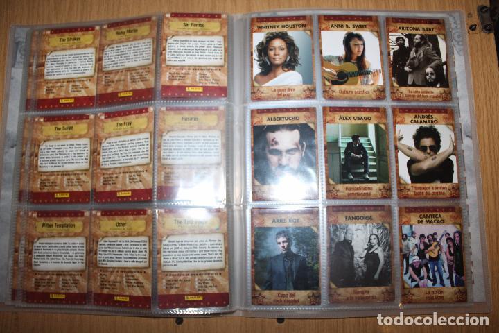 Coleccionismo Álbumes: MUSICARDS - ÁLBUM INCOMPLETO - PANINI - Foto 15 - 47100465