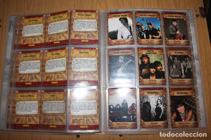 Coleccionismo Álbumes: MUSICARDS - ÁLBUM INCOMPLETO - PANINI - Foto 16 - 47100465