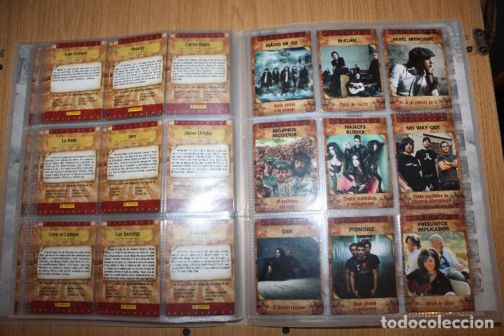 Coleccionismo Álbumes: MUSICARDS - ÁLBUM INCOMPLETO - PANINI - Foto 18 - 47100465