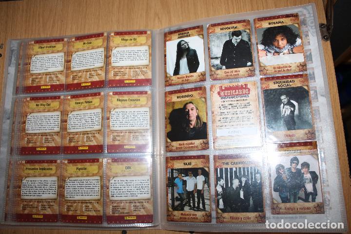 Coleccionismo Álbumes: MUSICARDS - ÁLBUM INCOMPLETO - PANINI - Foto 19 - 47100465