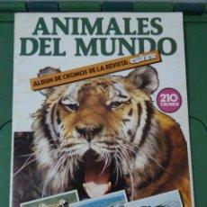 Coleccionismo Álbumes: ANIMALES DEL MUNDO -PARRAMON. Lote 83959936