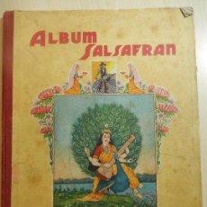 Coleccionismo Álbumes: ÁLBUM DE CROMOS SALSAFRAN. LE FALTAN TRES CROMOS.. Lote 85269944